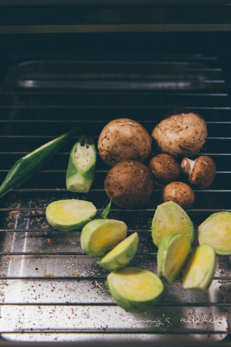『世田谷台所』{洋} 『常備菜』簡單雞排佐鹽烤春季蔬菜
